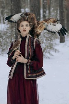 What Lyanna would wear in the winter, Valentino