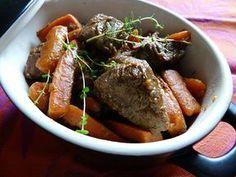 De vous à moi...: Boeuf aux carottes et à l'orange