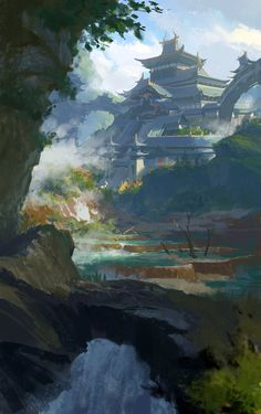 Tang meng, Dawn Pu on ArtStation at https://www.artstation.com/artwork/tang-meng