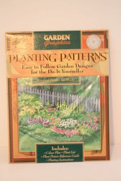 Planting Patterns Design Perennial Border for Shade Plans List Instruction Guide #GardenGraphics