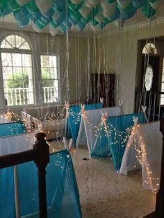 12 Ideas para Decorar y Organizar una Fiesta Pijamada Frozen Birthday Party, Sleepover Birthday Parties, Girl Sleepover, Festa Party, Pajama Party, Frozen Party, Birthday Party Themes, Girl Birthday, Frozen Theme