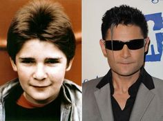 """Where Are They Now? The Goonies - Corey Feldmen as Clark """"Mouth"""" Devereaux - Then and Now from 8Ball.co.uk / www.8ball.co.uk/blog/8ball_film/goonies-now/"""