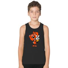 Marc Marquez Ant Logo Kids Tank Top