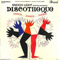Enoch Light & His Orchestra - Discotheque 1964. Cover art by George Giusti