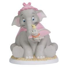 Precious Moments The Magic of Disney Collectible Figurine, Your Love Is So Comforting Porcelain seated Dumbo figurine Can be cleaned using mild soap and wiped with a soft cloth x x inches . Walt Disney, Disney Home, Disney Art, Dumbo Disney, Disney Stuff, Disney Images, Disney Precious Moments, Precious Moments Figurines, Disney Collectibles