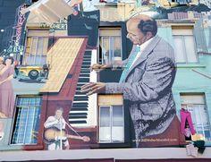 Giugno: festival in viaggio. Da San Francisco a Berlino. Murale a San Francisco © Fotografia di Dario Baruffi