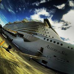The #AllureOfTheSeas #RoyalCaribbean #BiggestCruiseshipEver #GoPro