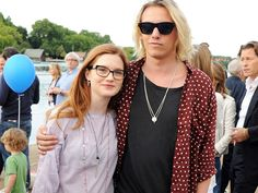 "Bonnie Wright and Jamie Campbell-Bower my favorite ""celebrity"" couple"