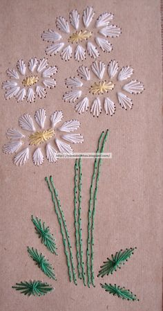 A simple concept for quick embroidery cards using Algerian eye and eyelet stitches Embroidery Cards, Hand Embroidery Videos, Embroidery Flowers Pattern, Creative Embroidery, Hand Embroidery Stitches, Silk Ribbon Embroidery, Crewel Embroidery, Hand Embroidery Designs, Embroidery Ideas