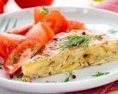 Omelette gourmande aux pommes de terre moelleuses : http://www.fourchette-et-bikini.fr/recettes/recettes-minceur/omelette-gourmande-aux-pommes-de-terre-moelleuses.html