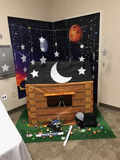 Could I include the planets? It would make it easier to hang up Space Preschool, Space Activities, Space Theme Classroom, Classroom Displays, Outer Space Party, Vbs Themes, Vbs Crafts, Vacation Bible School, Sistema Solar