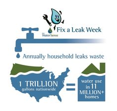 Fix a Leak Week San Diego CA, save water plumbing company, plumbers plumbing repairs leak detection dripping faucet drain cleaning water heater repair pipes Water Saving Tips, Dripping Faucet, Water Plumbing, Plumbing Companies, Low Water Pressure, Plumbing Problems, Healthy Water, Home Fix, Gallon Of Water