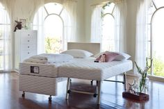 Bedroom :: Mattresses & Ensembles :: Mattresses and Ensembles :: Sleep Over King Single Bed Package -   Domayne Online Store - Furniture, Bedding, Homewares and Electronics