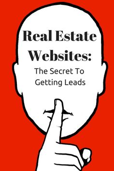 Real Estate Websites: The secret to getting leads! #realestate How to buy a home, buying a home #homeowner