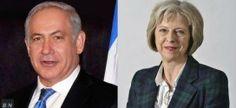 Benjamin 'Bibi' Netanyahu and British PM Theresa May (Photo: Breaking Israel News/Wikimedia Commons)