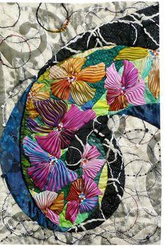 Floral art quilt by Lin Hsin-Chen | TAFA Forum