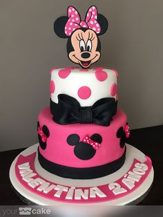 Your Cake. Tarta Minnie