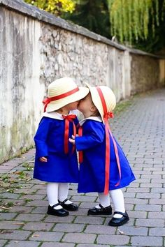 Madeline for Halloween! So cute! For our daughter when we're done doing duo twin  costumes