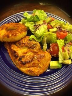 Sirracha Lime Chicken salad with a Lime Vinaigrette #Healthy #Sirracha