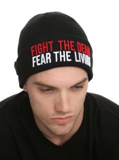 The Walking Dead Fight The Dead Watchman Beanie | Hot Topic