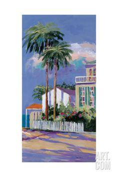 Key West II Giclee Print by Jane Slivka at Art.com