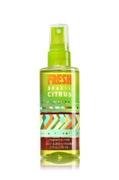 Fresh Brazil Citrus Travel Size Fine Fragrance Mist - Signature Collection - Bath & Body Works