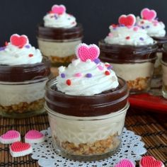 No Bake Caramel Mud Pie Cups by BruCrewLife