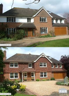 Adding Character - Exterior Remodelling Before and After Transformation by Back to Front Exterior Design