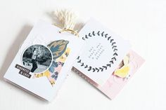 Mini Album with Crate Paper Maggie Holmes Bloom by Nikki Nimena
