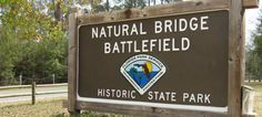 Natural Bridge Battlefield Historic State Park is the site of a March 1865 Civil War battle where Confederate soldiers defeated Union troops and kept Tallahassee from falling into Union control. Tallahassee was the only southern capital east of the Mississippi not captured by Union forces during the war. More details here: http://www.visittallahassee.com/partners/natural-bridge-battlefield-state-historic-site/143043/. #IHeartTally