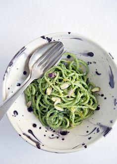 Espaguetis de verduras