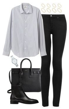 ea2071ba73f9 A fashion look from May 2015 featuring white long sleeve top, denim skinny  jeans and crocodile boots. Browse and shop related looks.