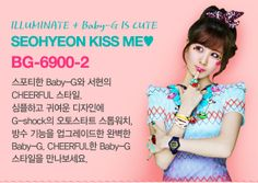 Girls' Generation and more of their photos for Casio's 'Baby-G'