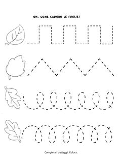 Preschool Writing, Fall Preschool, Homeschool Kindergarten, Preschool Learning Activities, Preschool Lessons, Autumn Activities, Preschool Classroom, Kindergarten Worksheets, Preschool Activities