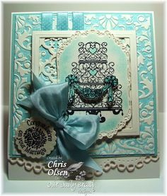 Darice Damask card - Google Search