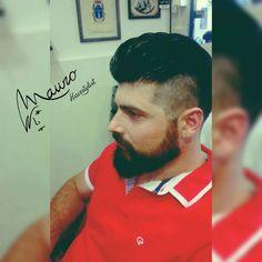 #maurohairstylist #beard #summer