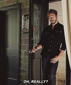 Yes, really. Dyson from Lost Girl. Sigh...