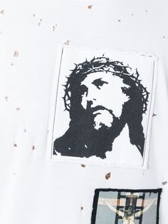 Givenchy Christ patch T-shirt
