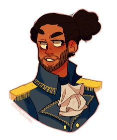 Lafayette by DanRobydoobles on DeviantArt || Hamilton