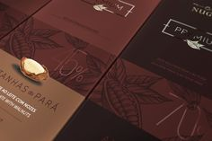 Premium Chocolate Bars NUGALI on Packaging of the World - Creative Package Design Gallery