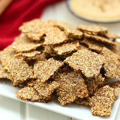 Crackers just got a healthy makeover with these SuperSeed Crackers made entirely from fiber-rich and omega-filled super seeds! Mix and bake for a healthy snack!