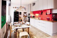 Mieszkanie w stylu retro - Dom