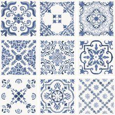 Retro Home Decor Decoration Bedroom, Wall Decor, Vinyl Decor, Boho Home, Portuguese Tiles, Retro Home Decor, Home And Deco, Best Interior Design, Ceramic Painting