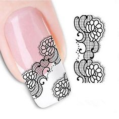 Tint Water Transfer Printing Nail Stickers *** You can find out more details at the link of the image. Water Transfer Printing, Paisley Flower, Flower Boutique, Prego, Nail Art Stickers, Water Slides, Makeup Brushes, Nail Polish, How To Apply
