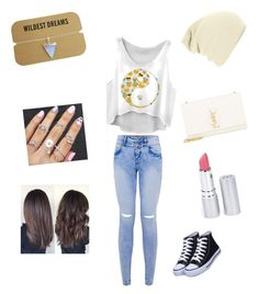"""""""fun outfit"""" by breann-bernal ❤ liked on Polyvore featuring Yves Saint Laurent and HoneyBee Gardens"""