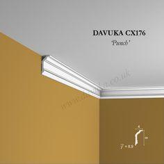 Architectural Columns, Bungalow Interiors, Base Moulding, Coving, Decorative Mouldings, Cornice, Order Up, Punch, Centre