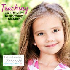 Teaching kids to disagree respectfully