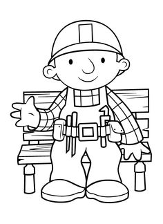Bob the Builder Coloring Pages 18 Coloring pages for kids