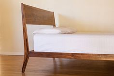 Modern Lean Bed Mid Century Danish Modern by PeteDeebleFurniture