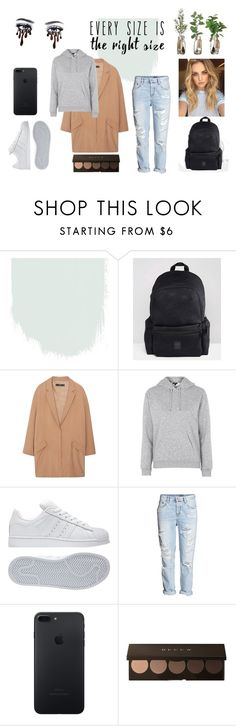 """Outfit for tired peaople"" by qativ on Polyvore featuring moda, adidas, MANGO i Topshop"